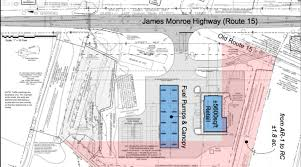 gas station floor plans largest gas station in loudoun proposed on rt 15 loudoun now