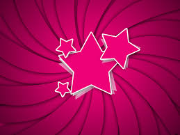 this is nice pink retro star ppt background image for powerpoint
