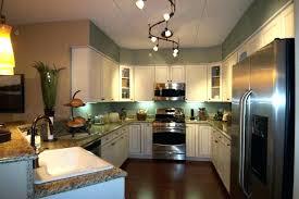 track lighting kitchen island track lighting for kitchen grand condo contemporary kitchen track