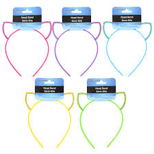 plastic headbands bulk basic solutions sequined car ear plastic headbands at