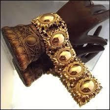 vintage jewelry bracelet images Etruscan revival gold bracelet signed napier vintage jewelry jpg