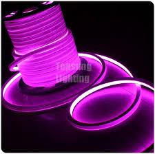 wholesale 12 volt flat pink led neon flex light 16x16mm