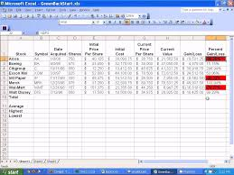 Sales Lead Tracking Spreadsheet Investment Tracking Spreadsheet