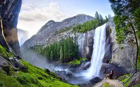 beautiful waterfalls with flowers hd best waterfall 2017