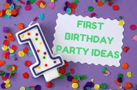 1st birthday ideas goodtoknow
