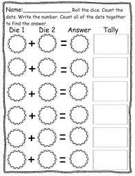magnificent pre k homework math activity sheets cut and paste