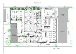 restaurants floor plans city approved floor plan of restaurant space pismo beach
