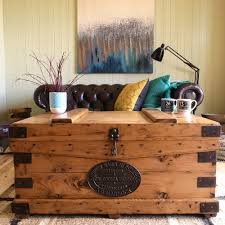 table terrific storage chest coffee table wood trunk rustic game