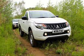 mitsubishi pickup trucks test drive mitsubishi l200 single cab pick up the business