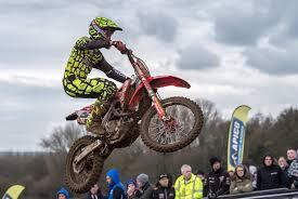 motocross news uk buildbase honda team confirmed for weston beach race trials and