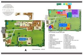 floorplan the orchard house u2013 seminyak 4 bedroom luxury villa bali