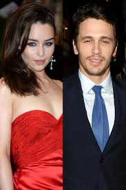 fifty shades of grey movie james franco and emilia clarke tipped