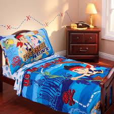disney jake neverland pirates 4 piece toddler bedding