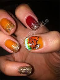 easy thanksgiving nail art designs u2013 easy nail art