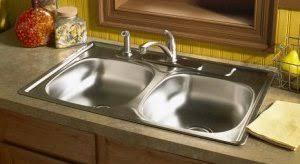 Top Kitchen Sinks Kitchen Sinks Undermount Vs Top Mount Hum Home Review