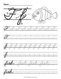 free printable cursive t worksheet cursive writing worksheets