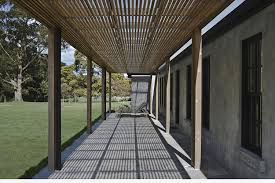 Adam Style House The East Trentham House By Adam Kane Architects Man Of Many