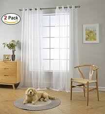 Sheer Grommet Curtains Best Sheer Grommet Curtains For 96 84 And 108 Inches Long