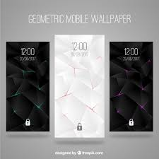 Elegant Wallpapers Set Of Abstract Elegant Wallpapers For Mobile Vector Free Download
