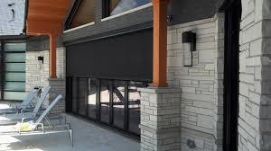 Mirage Retractable Screens NanaWall System Modern Patio
