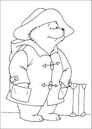 paddington bear coloring pages u2013 birthday printable
