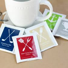 tea bag favors tea bag party favors beau coup