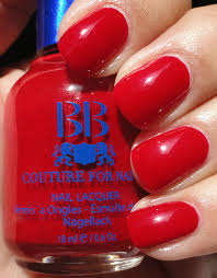 best organic and holographic dark red creme nail polish for
