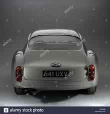 aston martin db4 zagato 1961 aston martin db4 gt zagato rear view stock photo royalty