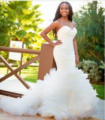 wedding dresses for women hairstyles for black brides with mermaids wedding dress