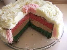 ribbon multi colour cake youtube