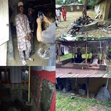 his and items popular ritualist and fraudster arrested in his den with