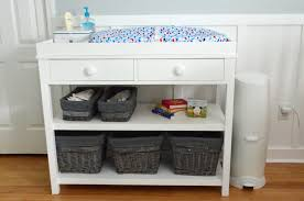 Change Table White White Ultimate Changing Table Diy Projects