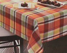 better homes and gardens harvest plaid tablecloth walmart