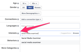 Interests To Put On Resume 21 Ways To Improve Your Facebook Ads With Ad Targeting Social