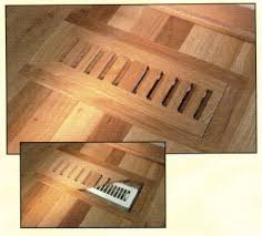 flush mount grill for the floor vent in the breakfast nook this