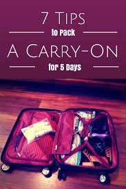 7 tips to pack a carry on suitcase ricardo elite roxbury 2 0