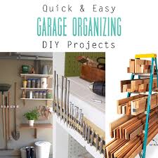 Garage Organizing - quick and easy garage organizing diy projects the cottage market