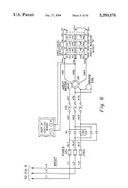 patent us5350076 bridge crane electric motor control system