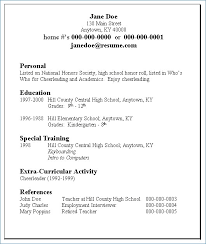 easy resume exles easy resume templates publicassets us