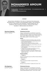 Power Plant Electrical Engineer Resume Sample by Electrical Engineer Resume Samples Visualcv Resume Samples Database