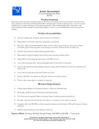 senior accountant cv cover letter sample resume for accountant position sample resume