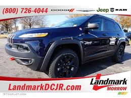 jeep trailhawk blue 2016 true blue pearl jeep cherokee trailhawk 4x4 109231720