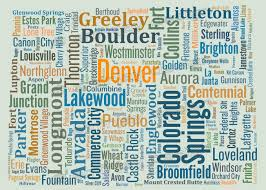 Craig Colorado Map by Colorado Typography Map