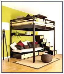 How To Build A Bunk Bed Frame Diy Loft Bed Frame Katecaudillo Me