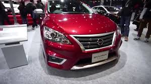 nissan sylphy 2016 東京オートサロン2016 nissan sylphy s touring youtube