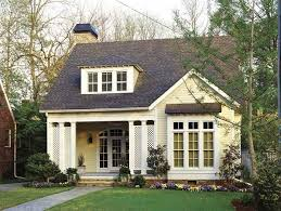 4 colors choice for small home exterior