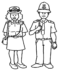 police coloring pages getcoloringpages com