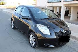 2008 toyota yaris manual toyota yaris tr 2008 1 3 manual 89293en cyprus cars offer