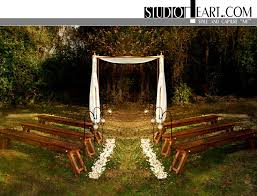 Pinterest Garden Wedding Ideas Small Outdoor Wedding Ideas Benched Seating No Arbor Pedals