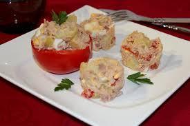 cuisiner le thon en boite salade de pommes de terre au thon les joyaux de sherazade